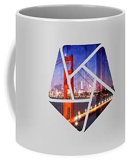 City Art Golden Gate Bridge Composing Coffee Mug