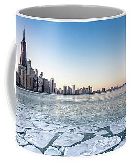 City By The Frozen Lake Coffee Mug