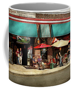 Coffee Mug featuring the photograph City - Edison Nj - Pino's Basket Shop by Mike Savad