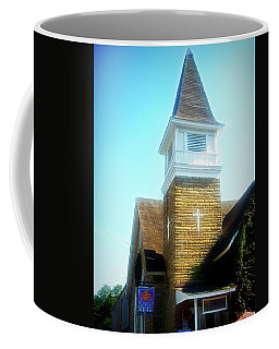 Coffee Mug featuring the photograph City Flare Cathedral Cafe by Aimee L Maher Photography and Art Visit ALMGallerydotcom
