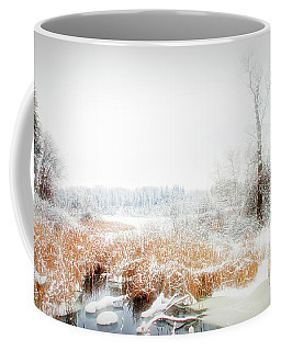 Coffee Mug featuring the photograph City Flare Winters Glory by Aimee L Maher Photography and Art Visit ALMGallerydotcom