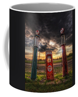 City Garage Sunset Coffee Mug