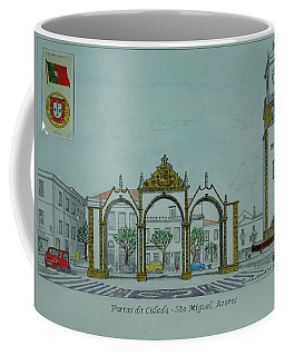City Gates, San Miguel,azores Coffee Mug