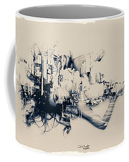 City Girl Dreaming Coffee Mug