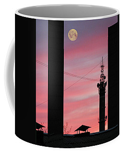 Coffee Mug featuring the photograph City Graphic by Vladimir Kholostykh