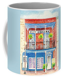 City Grocery Oxford Mississippi  Coffee Mug