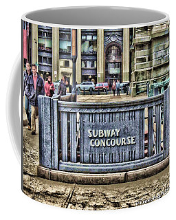 City Hall Sidewalk Coffee Mug