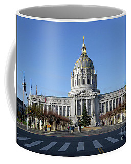 Coffee Mug featuring the photograph City Hall by Steven Spak