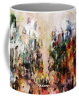 Coffee Mug featuring the photograph City Life by Claire Bull