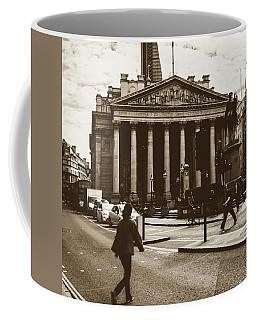 Coffee Mug featuring the photograph City Life On London Streets by Jacek Wojnarowski