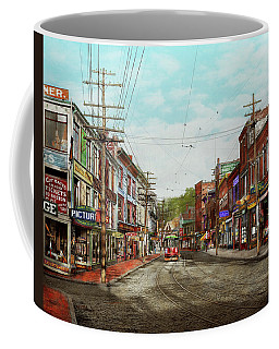 Coffee Mug featuring the photograph City - Ma Glouster - A Little Bit Of Everything 1910 by Mike Savad
