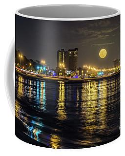 City Moon Coffee Mug by Brian Wright