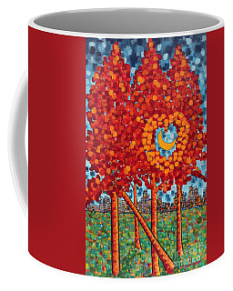 City Moonshine Coffee Mug by Holly Carmichael