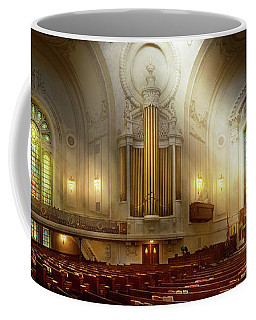 Coffee Mug featuring the photograph City - Naval Academy - The Chapel by Mike Savad