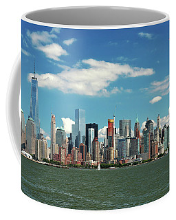 Coffee Mug featuring the photograph City - New York Ny - The New York Skyline by Mike Savad