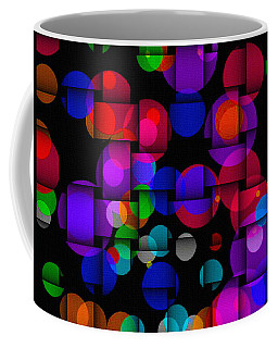 Coffee Mug featuring the photograph City Night by Mark Blauhoefer