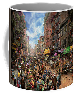 City - Ny - Flavors Of Italy 1900 Coffee Mug