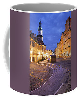 City Of Jelenia Gora By Night Coffee Mug