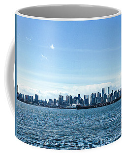 City Of Vancouver From The North Shore Coffee Mug