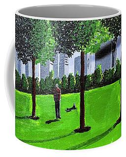 City Park By David Jackson Coffee Mug