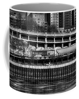 City Rail Coffee Mug by Jimmy Ostgard