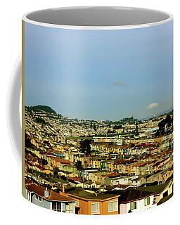City Scape San Francisco California Coffee Mug by Lorna Maza