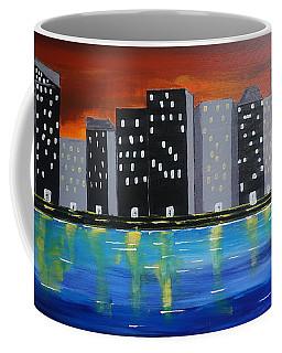 City Scape_night Life Coffee Mug
