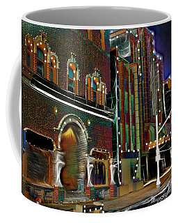 City Scene Coffee Mug by EricaMaxine  Price