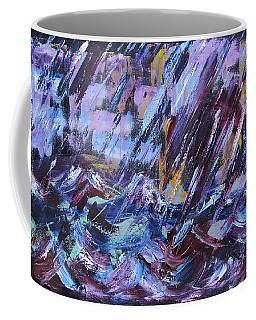 City Storm Abstract Coffee Mug