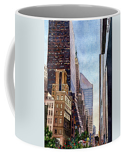 City Sunrise Coffee Mug