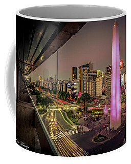 City Sunset Coffee Mug by Andrew Matwijec