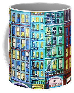 City Windows Coffee Mug