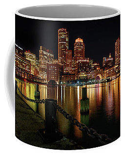 City With A Soul- Boston Harbor Coffee Mug