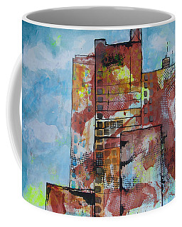 Cityscape 230 Coffee Mug by Karin Husty