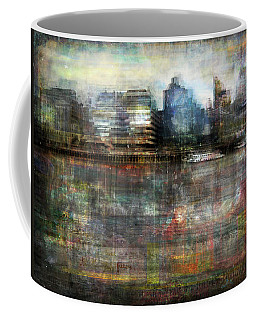 Cityscape #33. Silent Windows Coffee Mug by Alfredo Gonzalez