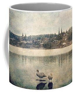 Cityscape Of Lucerna Coffee Mug