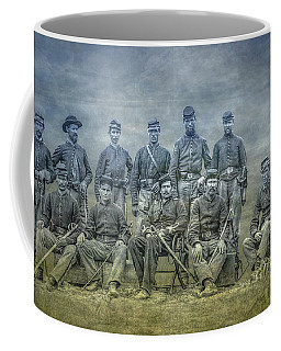 Coffee Mug featuring the digital art Civil War Band Of Brothers  by Randy Steele
