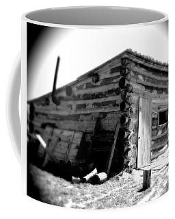Civil War Cabin 1 Army Heritage Education Center Coffee Mug