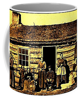 Civil War Era Pioneer Mormon Family Coffee Mug
