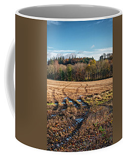 Coffee Mug featuring the photograph Clackmannan Tower In Central Scotland by Jeremy Lavender Photography