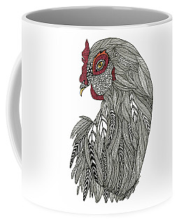Coffee Mug featuring the drawing Claire  by Barbara McConoughey