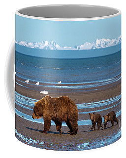 Coffee Mug featuring the photograph Clamming Trip by Aaron Whittemore
