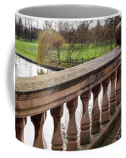 Coffee Mug featuring the photograph Clare College Bridge Cambridge by Gill Billington