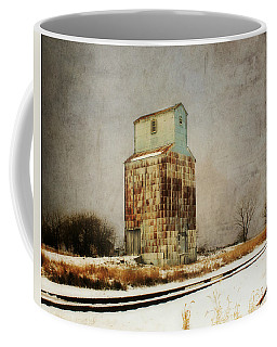 Coffee Mug featuring the photograph Clare Elevator by Julie Hamilton