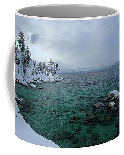 Coffee Mug featuring the photograph Clarity In A Winter Storm Sundown by Sean Sarsfield