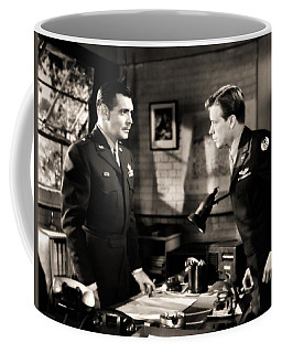 Coffee Mug featuring the photograph Clark Gable Appearing In Command Decision by R Muirhead Art