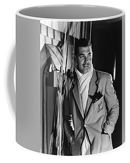 Coffee Mug featuring the photograph Clark Gable Hollywood Movie Idol  by R Muirhead Art