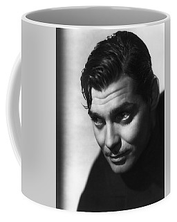 Coffee Mug featuring the photograph Clark Gable by R Muirhead Art