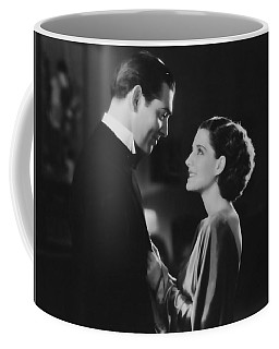 Coffee Mug featuring the photograph Clark Gable Staring In A Free Soul by R Muirhead Art
