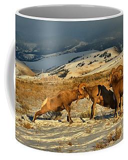 Grand Teton Bighorn Brawlers Coffee Mug